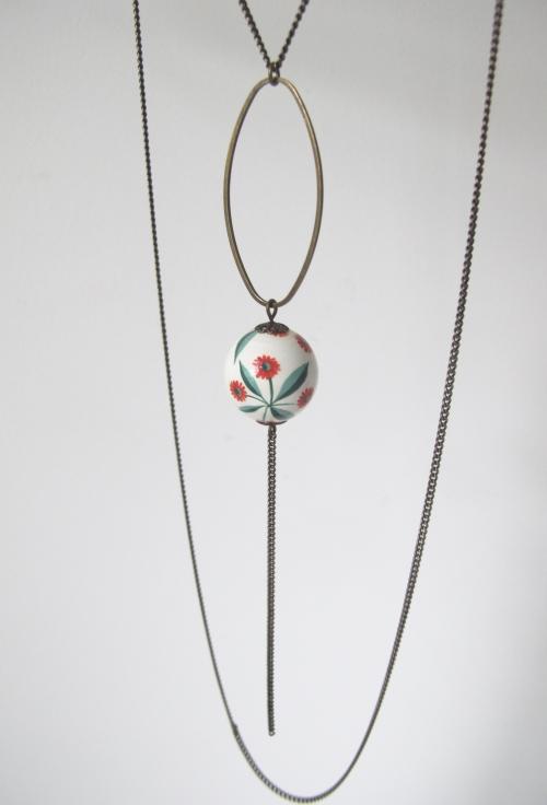 bijoux créateurs,soldes,peint à la main,perle bois,boucles d'oreilles,sautoirs,fait main